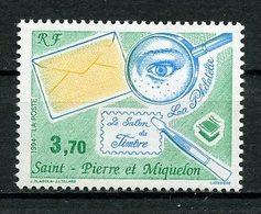 SPM MIQUELON 1994 N° 606 ** Neuf MNH Superbe C 2 € Le Salon Du Timbre Paris Pince Loupe Stamps - Neufs