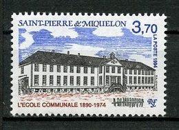 SPM MIQUELON 1994 N° 607 ** Neuf MNH Superbe C 1.70 € Ecole Communale School Bâtiments Publics - Neufs