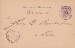 DR Ganzache K1 Mayen 6.3.79 Gel. Nach Trier - Deutschland