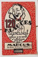 120 BLAGUES ET RIGOLADES ENTENDUES UN PEU PARTOUT ET COLLECTIONNEES POUR VOUS...par MARCUS - Bücher, Zeitschriften, Comics