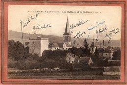 CPA - HERICOURT (70) - Aspect Du Quartier Des Eglises Et Du Château En 1918 - Frankreich