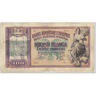 Billet, Albania, 100 Franga, 1940, Undated (1940), KM:14, B - Albanië