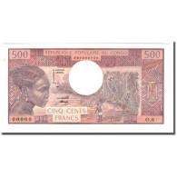 Billet, Congo Republic, 500 Francs, Undated (1974), Specimen, KM:2a, NEUF - Congo
