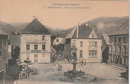 68 Masevaux. Place De La Halle Aux Blés - Mulhouse
