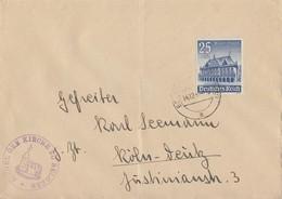 DR Brief EF Minr.758 Belgern - Deutschland