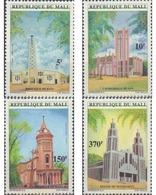 Ref. 592930 * MNH * - MALI. 1997. IGLESIAS CRISTIANAS - Mali (1959-...)