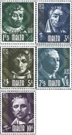 Ref. 163993 * MNH * - MALTA. 1974. PERSONALIDADES CELEBRES DE MALTA - Malte