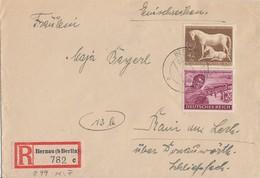 DR R-Brief Mif Minr.890,899 Bernau 29.12.44 - Briefe U. Dokumente
