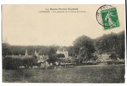 LAFAUCHE Vue Générale De La Ferme De Lavaux, Envoi 1911 Ed. Garoux - Other Municipalities