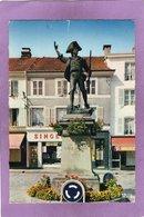 88 REMIREMONT Statue Du Volontaire - MagasIn SINGER - Boucherie - Remiremont