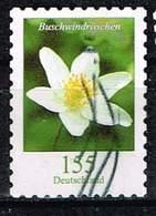 Bund 2019, Michel# 3481 - 3484 O Blumen Selbstklebend - Used Stamps