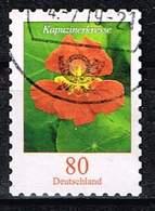 Bund 2019,Michel# 3482 O Blumen: Kapuzinerkresse Selbstklebend - Used Stamps