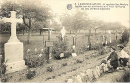 LABOUXHE-MELEN - Ici Reposent Les Martyrs Fusillés Par Les Allemands Le 6 Août 1914 - N'a Pas Circulé - Soumagne