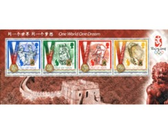 Ref. 215839 * MNH * - ISLE OF MAN. 2008. PEKING OLYMPIC GAMES . 29 JUEGOS OLIMPICOS VERANO PEKÍN 2008 - Verano 2008: Pékin