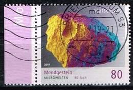 Bund 2019,Michel# 3478 O Mikrowelten: Mondgestein - Used Stamps