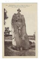 CPA 22 Trébeurden Menhir De Penvern - Trébeurden