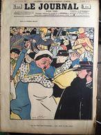 Le Journal Pour Tous 5 Octobre1899 Le Feu Chez Mes Bourgeois Diner Brulé Pompiers Agents Dessin Delaw - Journaux - Quotidiens