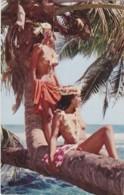 Bu - Cpa TAHITI - Jeunes Beautés Tahitiennes (jeunes Filles Aux Seins Nus) - Polynésie Française