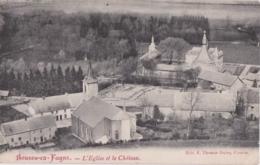 Bu - Cpa Belgique - Boussu En Fagne - L'Eglise Et Le Château - Boussu