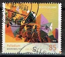 Bund 2019,Michel# 3466 O Mikrowelten: Palladium - Used Stamps