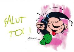 1742 Gaston Lagaffe Par Franquin (1999), Salut Toi ! - Bandes Dessinées