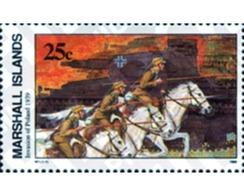 Ref. 44297 * MNH * - MARSHALL Islands. 1989. HORSE . CABALLO - Sin Clasificación