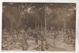 +3003,  FOTO-AK, WK I, Feldpost, Heldengräber, Argonnerwald - Soldatenfriedhöfen