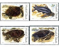 Ref. 266772 * MNH * - MARSHALL Islands. 2011. SEA TURTLES . TORTUGAS MARINAS - Unclassified