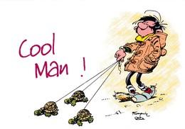 1746 Gaston Lagaffe Par Franquin (1999), Cool Man ! - Bandes Dessinées
