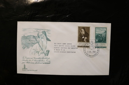 Vatican City FDC Painting Day Of Issue Cancel 1965 A04s - FDC