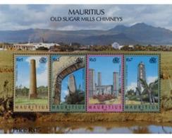 Ref. 137377 * MNH * - MAURITIUS. 1999. CHIMENEAS DE FABRICAS DE AZUCAR - Mauritius (1968-...)