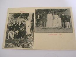 C.P.A.- Océanie - Polynésie Française - Raiatea - 2 Vues - Chef Teraupoo - Famille Royale à Avéra - 1903 - SUP (CC 94) - Polynésie Française