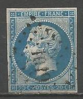 FRANCE - Oblitération Petits Chiffres LP 1019 LA CRECHE (Deux-Sèvres) - 1849-1876: Période Classique