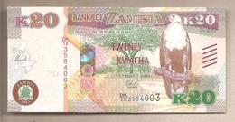 Zambia - Banconota Non Circolata FdS Da 20 Kwacha P-59a - 2015 - Zambia