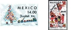 Ref. 61226 * MNH * - MEXICO. 1984. CHRISTMAS . NAVIDAD - Eisenbahnen