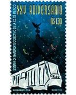 Ref. 55998 * MNH * - MEXICO. 1994. 25th ANNIVERSARY OF THE COLLECTIVE TRANSPORT . 25 ANIVERSARIO DE LOS TRANSPORTES COLE - Eisenbahnen