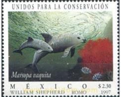 Ref. 29620 * MNH * - MEXICO. 1997. UNIDOS PARA LA CONSERVACION - FOCAS - Stamps
