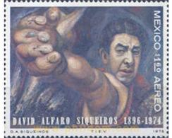 Ref. 182451 * MNH * - MEXICO. 1975. ANIVERSARIO DE LA MUERTE DE DAVID ALFARO SIQUEIROS - Celebrità