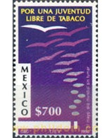 Ref. 182721 * MNH * - MEXICO. 1990. WORLD DAY WITHOUT TOBACCO . DIA MUNDIAL SIN TABACO - Unclassified