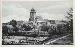 Bork I Westf. (Kreis Unna - NRW) Kirche Mit Umgebung 19?? Selten - Unna
