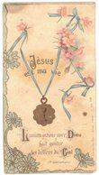 JESUS EST MA VIE L'UNION INTIME AVEC DIEU IMAGE PIEUSE RELIGIEUSE HOLY CARD SANTINI HEILIG PRENTJE - Images Religieuses