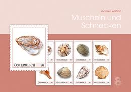 Oostenrijk Austria 2019  Mussels And Snails   Sheetlet   Postfris/mnh/neuf - 1945-.... 2de Republiek