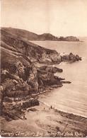 Postcard Of Guernsey - Saints Bay Showing Pea-Stack Rocks (26719) - Guernsey