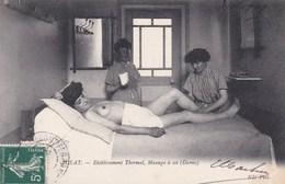 ROYAT Etablissement Thermal,massage à Sec (dames),nue - Royat