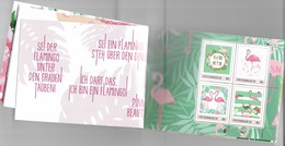 Oostenrijk Austria 2019  Flamingos  Booklet   Postfris/mnh/neuf - 1945-.... 2de Republiek