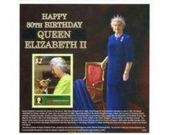 Ref. 191620 * MNH * - MICRONESIA. 2006. 80th ANNIVERSARY OF QUEEN ELIZABETH II . 80 ANIVERSARIO DE LA REINA ELISABETH II - Dogs