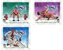 Ref. 61521 * MNH * - MOLDOVA. 2000. GAMES OF THE XXVII OLYMPIAD. SYDNEY 2000 . 27 JUEGOS OLIMPICOS VERANO SYDNEY 2000 - Moldavia