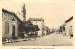 CPA 31 Haute Garonne Tournefeuille Rue Principale - Otros Municipios