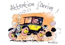 1763 Gaston Lagaffe Par Franquin (1999), Attention J'arrive ! - Bandes Dessinées
