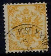 BOSNIA & HERZEGOVINA 1890-94 Arms 2 Kr. Plate I Perforated 11 Used.  SG 60, Michel 2 I J - Bosnia Herzegovina
